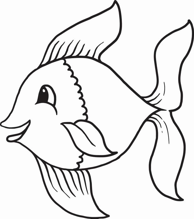 619x700 Free Fish Coloring Pages Awesome Free Fish Coloring Pages Luxury