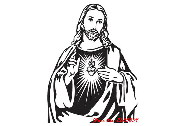 640x444 Online Shop New Arrivals The Heart Of Jesus Christ Portrait Art