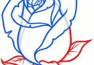 300x210 Easy Drawing Of A Rose Rose With Banner New Easy To Draw Roses