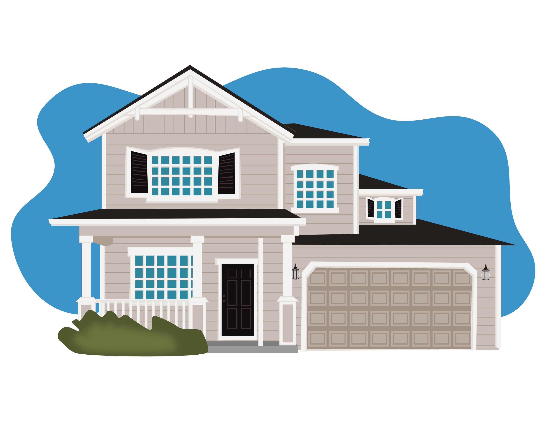 3000x2400 Custom House Drawing Home Building Digital Drawing Pdf Etsy