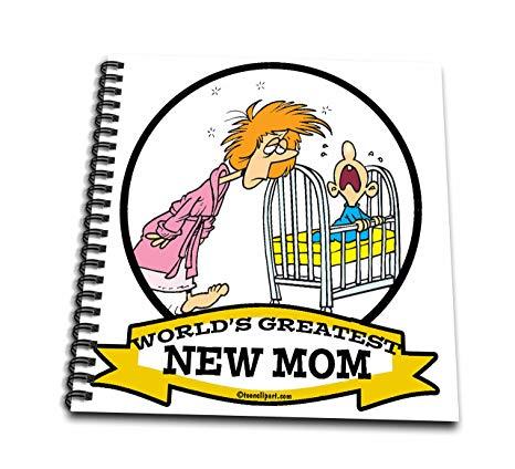 466x424 Db Funny Worlds Greatest New Mom Cartoon Drawing