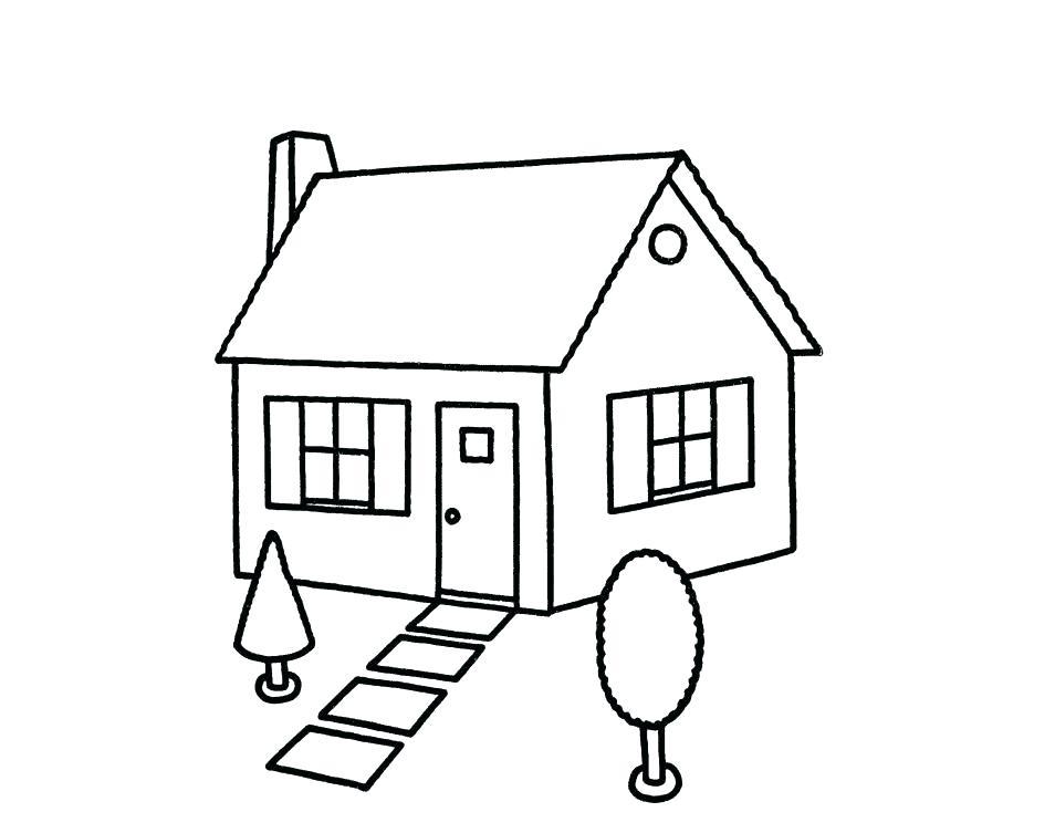 954x753 House Drawing Simple Home Designs Idea Plans App Online Click