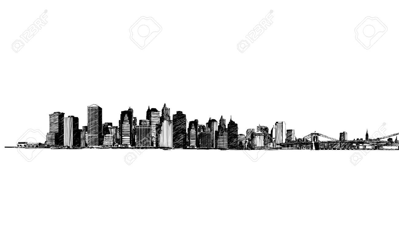 1300x760 Cityscape Clip Art Drawings Landscapes Pictures And Ideas