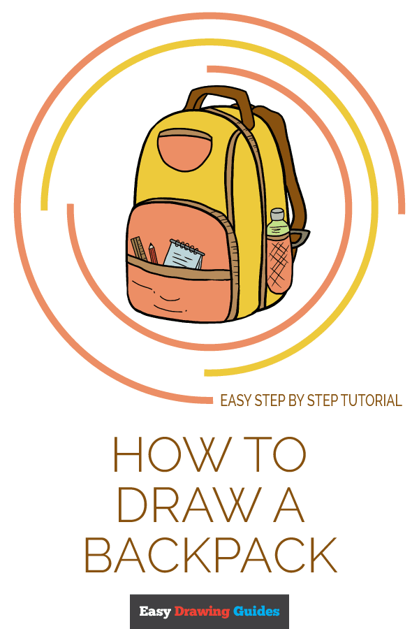 600x900 How To Draw A Backpack