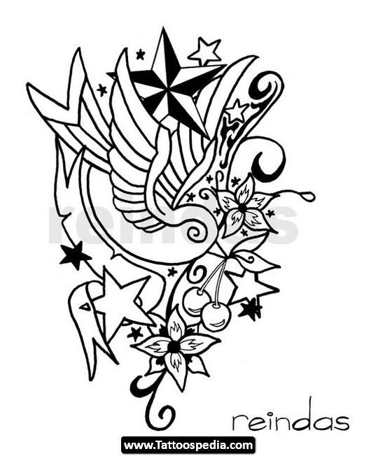 540x652 The New Tattoo New School Tattoo Drawings