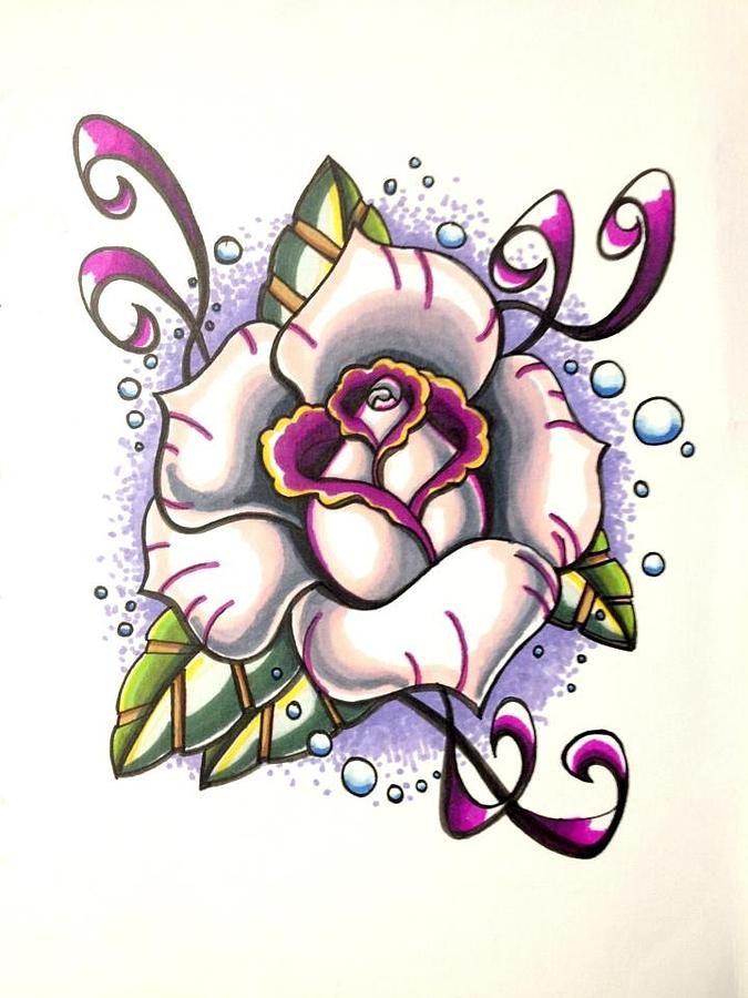 675x900 New School Tattoo Designs