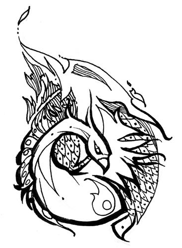 367x500 Cheryl Cole New Tattoo New School Tattoo Line Drawings