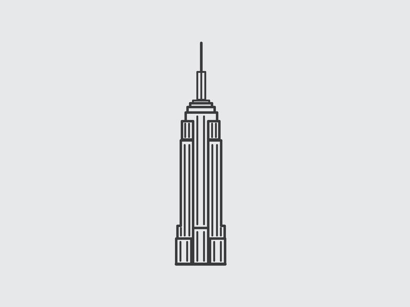 c227144656bf New York Buildings Drawing   Free download best New York Buildings ...