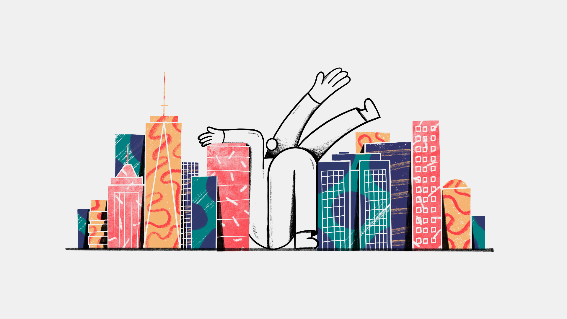 1920x1080 New York Real Estate Drawing