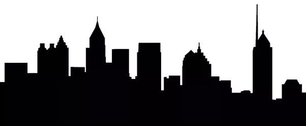 602x249 New York Skyline Drawing Free Hand Sketch Of City And Simple