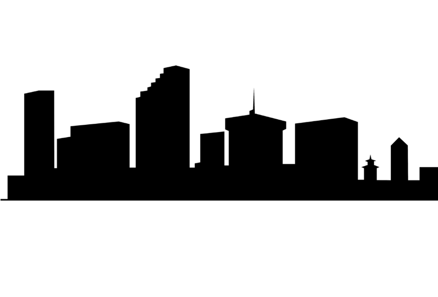 884x600 Autistic Drawing Skyline New York Transparent Png Clipart Free