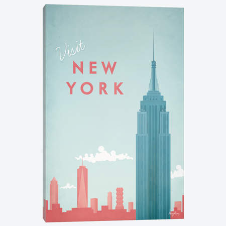 450x450 New York City Canvas Wall Art