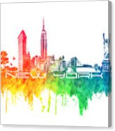 163x186 New York City Skyline Color Digital Art