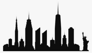 300x174 New York City Skyline Outline