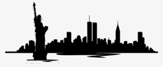 320x131 New York Skyline Png, Free Hd New York Skyline Transparent Image
