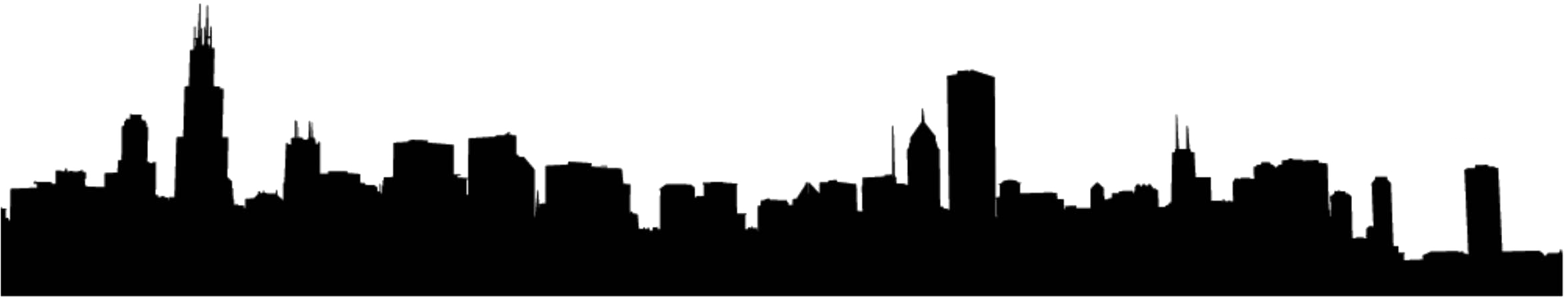 2352x457 Atlanta Drawing Skyline Boston Outline Transparent Png Clipart