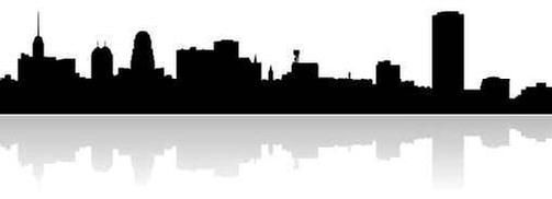 503x182 Collection Of 'buffalo Ny Skyline Silhouette' Download More Than