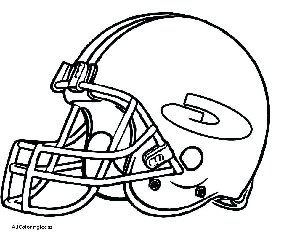 959x816 Nfl Helmet Coloring Pages Inspirational Green Bay Packers Helmet