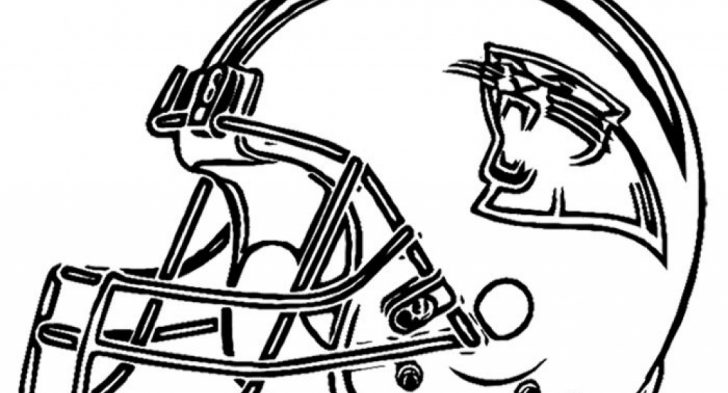 728x393 Nfl Panthers Coloring Pages