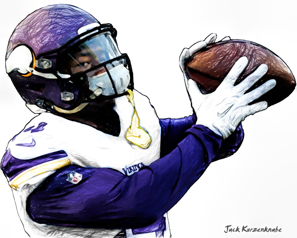 1024x819 Minnesota Vikings Stefon Diggs View All My Nfl Drawings