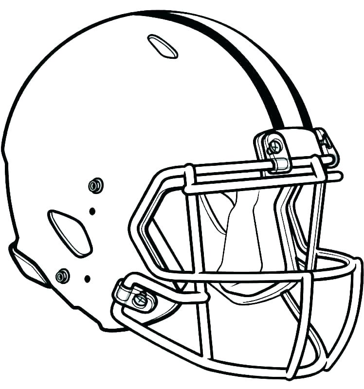 748x800 Football Coloring Pages Nfl Coloring Pages Football Players