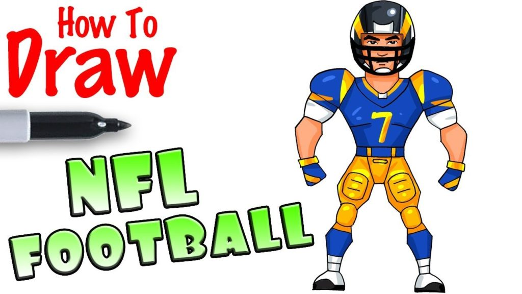 1024x576 How To Draw Nfl Football Player Fortnite Seattle Fans