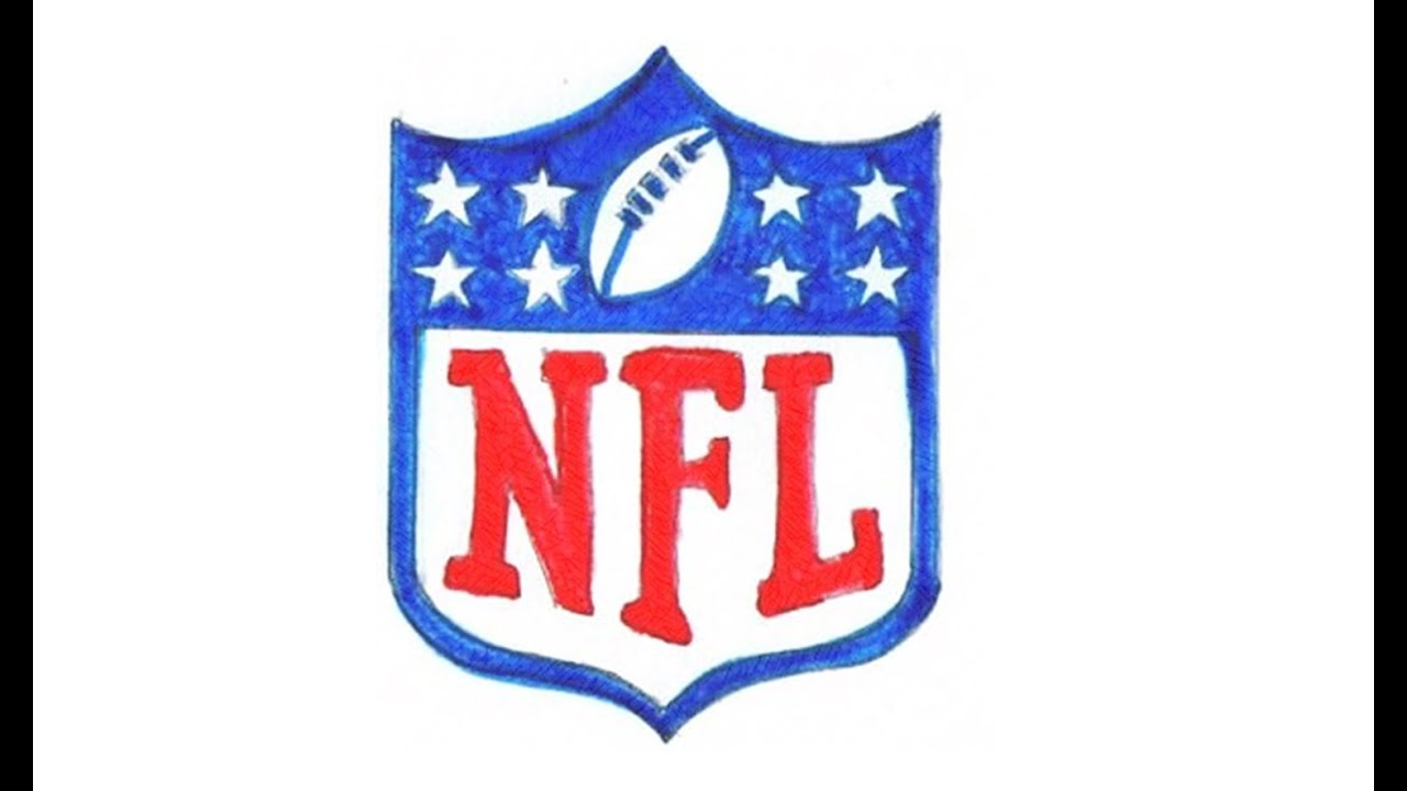 1280x720 How To Draw The Nfl Logo