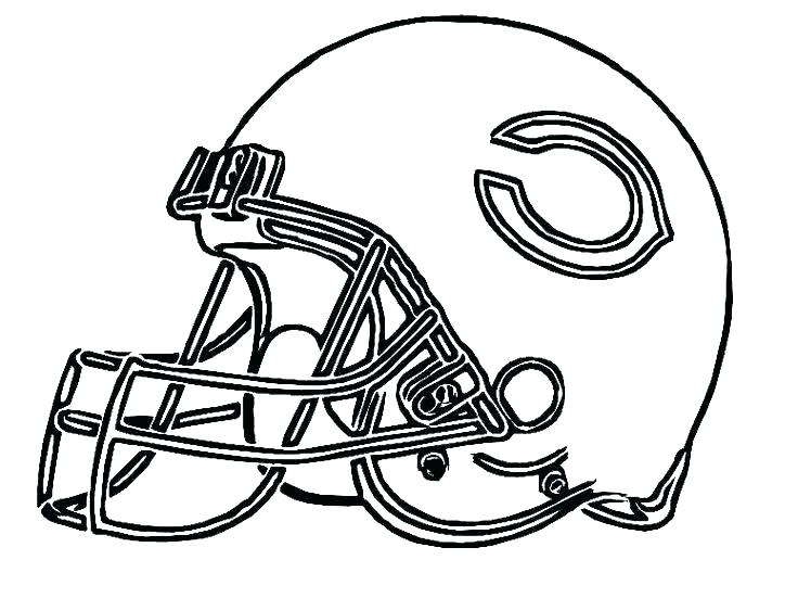 736x563 Nfl Football Coloring Pages Players Printable Helmet Player