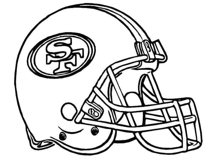700x541 nfl team coloring pages helmet coloring pages all team nfl