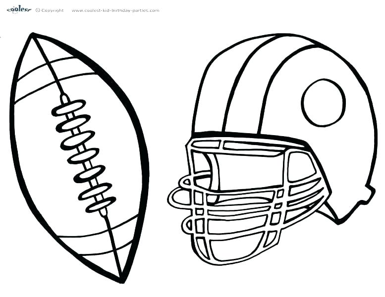 777x600 Nfl Football Jersey Coloring Pages