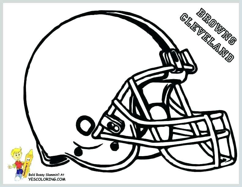 792x612 Nfl Helmets Coloring Pages