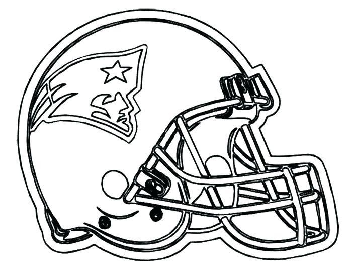 700x541 Coloriages De Casque Nfl Football Helmet Patriots New Coloring