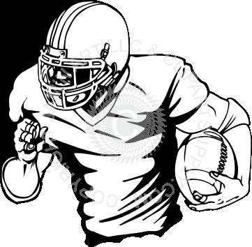 361x354 Football Player Drawings Image Group