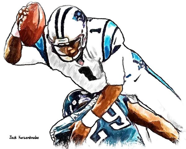 600x480 Nfl Drawings Art