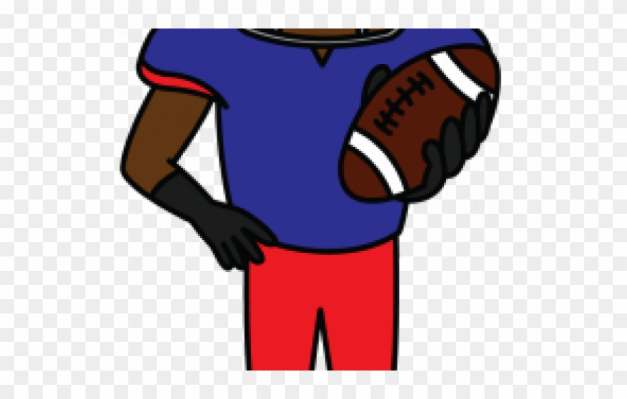 880x560 Sports Activities Clipart Simple Football Player