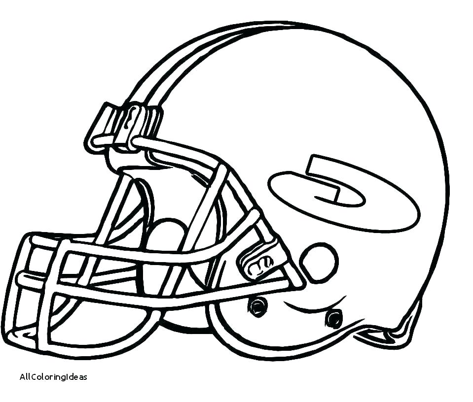 959x816 Football Players Coloring Pages