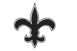 300x200 How To Draw Saints Logo, New Orleans Saints, Nfl Team Logo