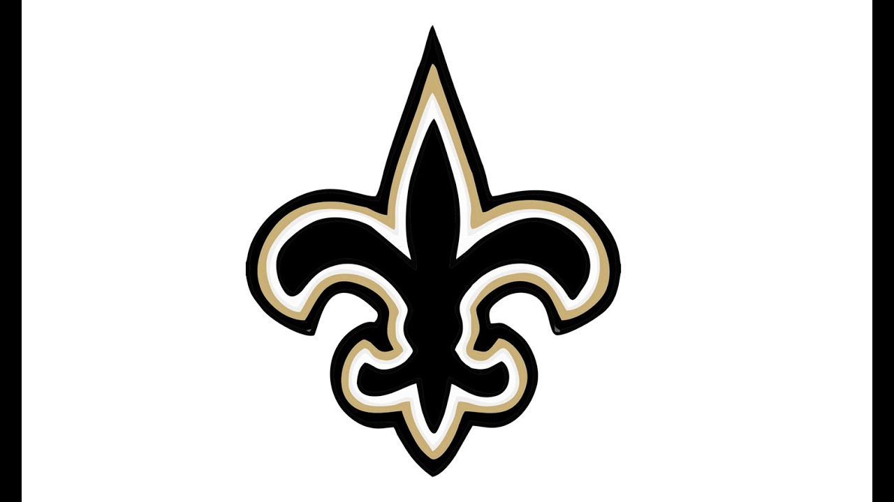 1280x720 How To Draw The New Orleans Saints Logo