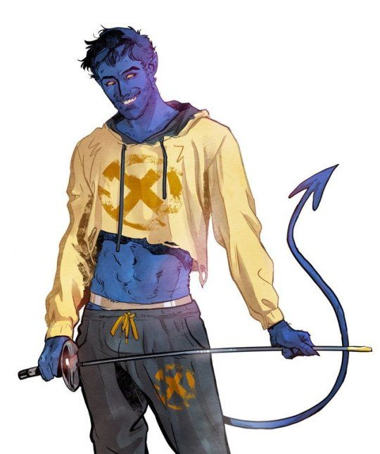 540x645 Kurt Wagner Aka Nightcrawler! Art