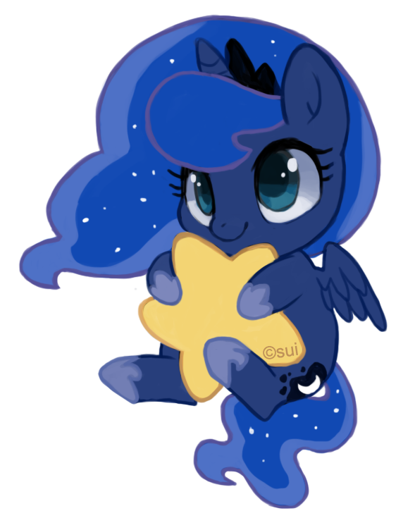 589x752 Little Luna My Little Pony My Little Pony Baby, Princess Luna