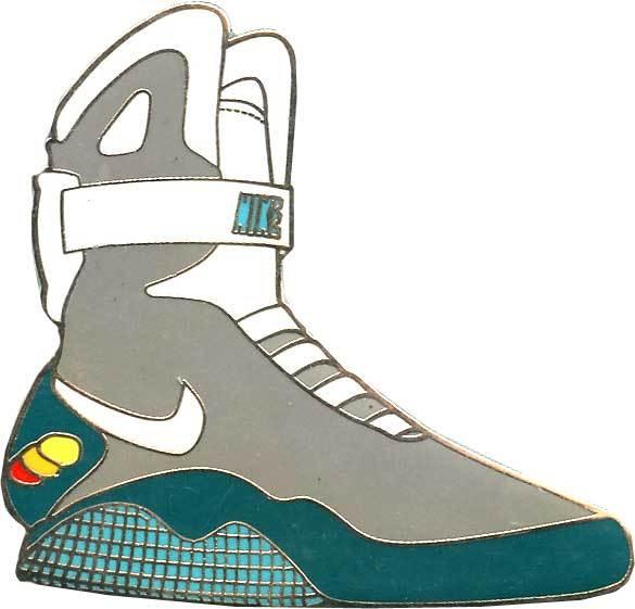 Nike Air Mag Drawing