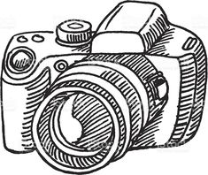 235x198 amazing camera sketches images camera sketches, camera