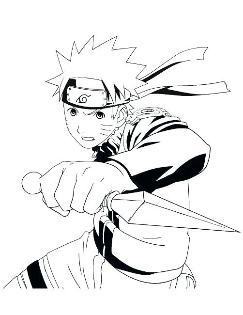 502x650 Naruto Nine Tailed Fox Coloring Pages Nine Tails Coloring Pages