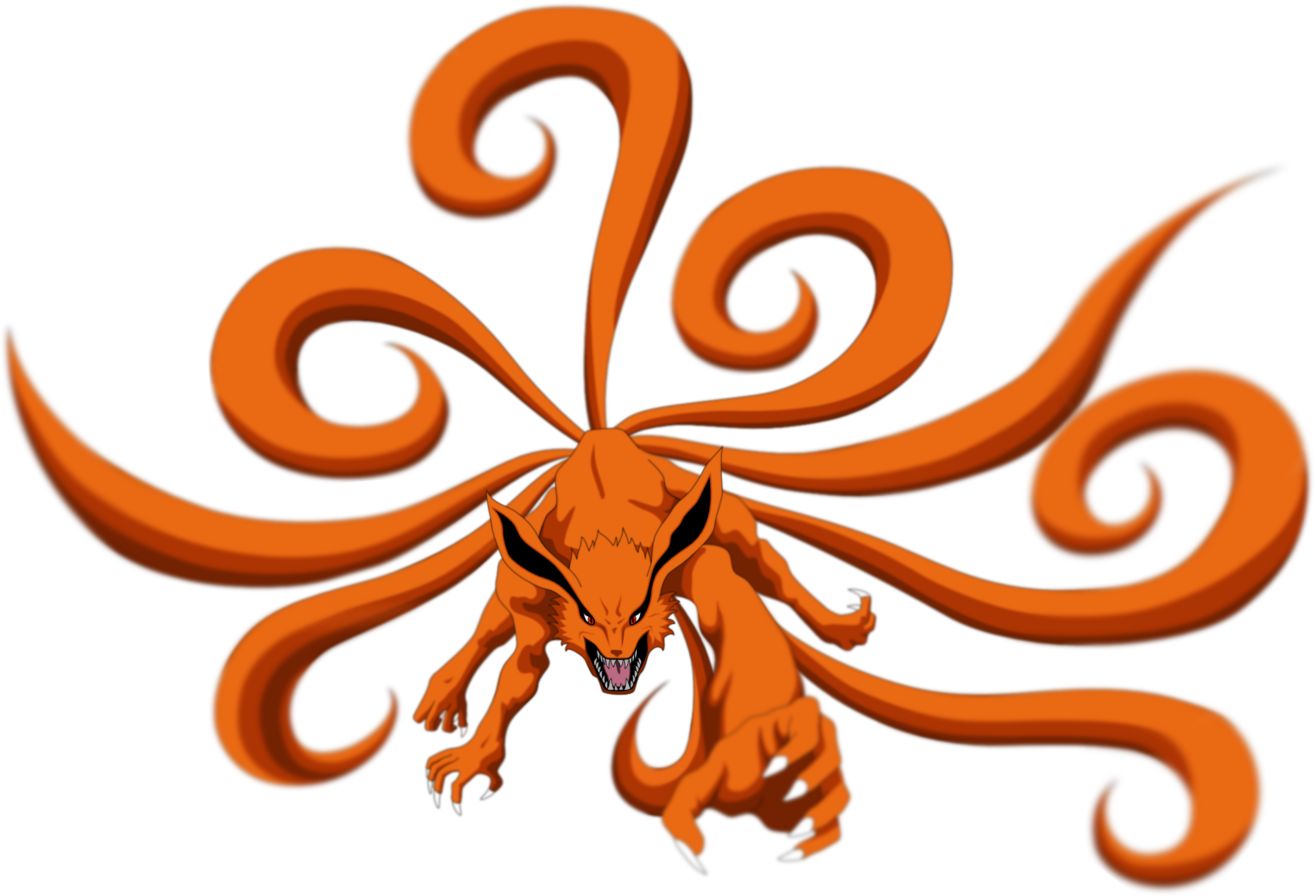 Nine Tails Drawing | Free download best Nine Tails Drawing