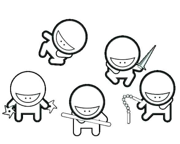 587x469 free ninja turtle coloring pages ninja turtle coloring pages