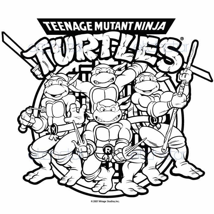 Ninja Turtle Drawing
