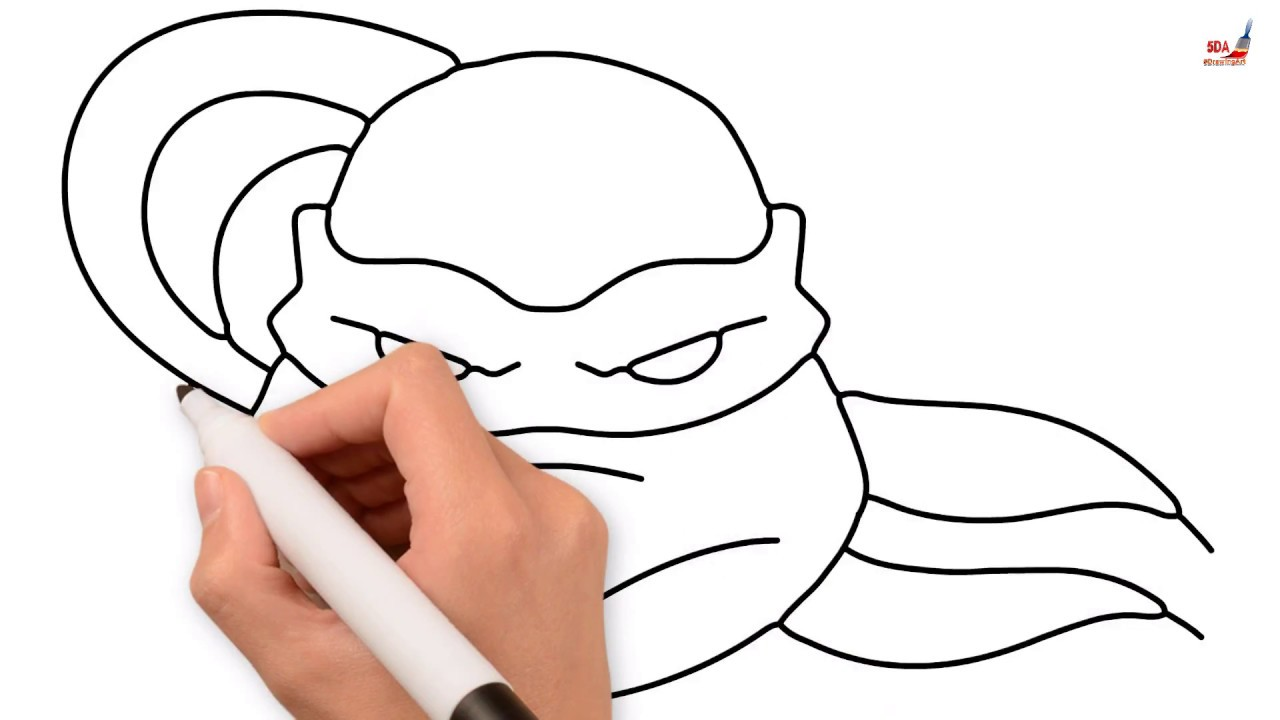 1280x720 how to draw ninja turtle how to draw mutant ninja turtle leonrdo