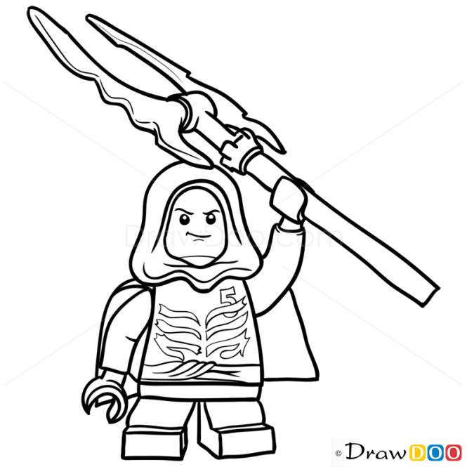 665x665 How To Draw Lloyd Garmadon, Lego Ninjago Caiden's Birthday