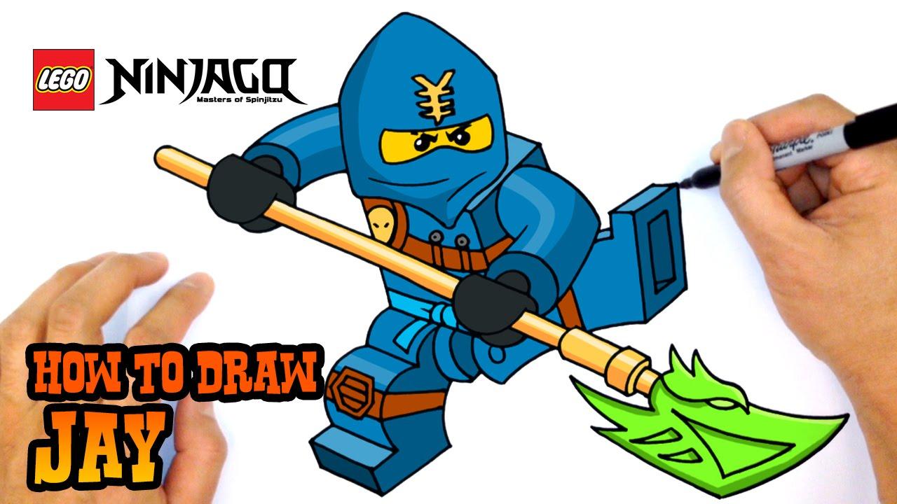 1280x720 How To Draw Ninjago Jay
