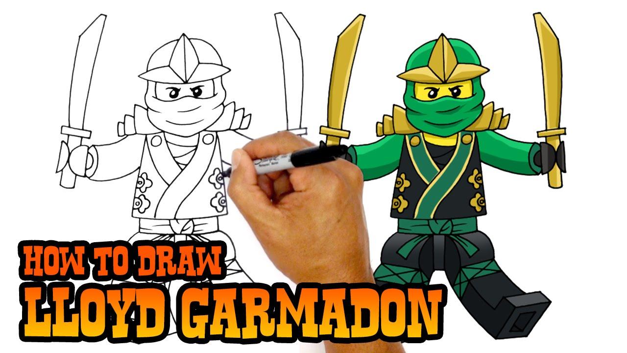1280x720 How To Draw Ninjago Lloyd